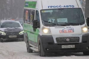 «Тарифы останутся прежними»: король брянских маршруток Гросс о стоимости проезда