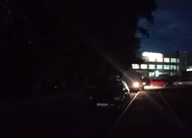 В Брянске пожаловались на опасную дорогу к ЖК «Речной»