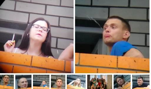 В Брянске молодежь устроила «чемпионат по плевкам с балкона»