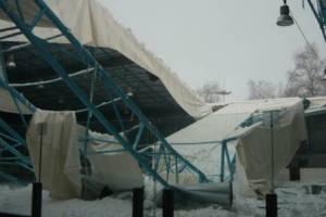 В Брянске обрушение крыши ледового дворца стало недоброй традицией
