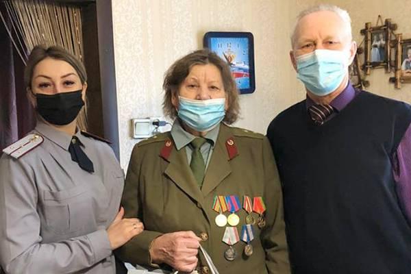 Ветеран брянской колонии №2 Нина Васичкина отметила 75-летний юбилей