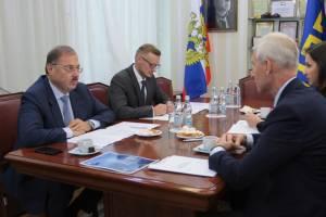 Борис Пайкин обсудил с Олегом Матыциным будущее киберспорта