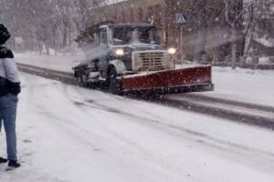 На Брянщине зимой со снегом боролись 98 единиц техники