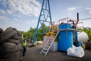 В Брянской области за месяц утилизировали пять тонн шин и покрышек