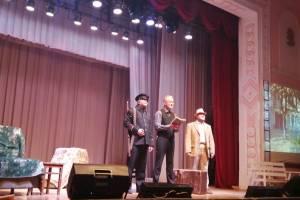 В Белых Берегах представили музыкальный спектакль «Томик Пушкина»