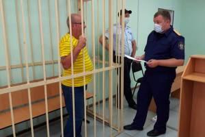 В Брянске арестовали убившего приятеля 63-летнего уголовника