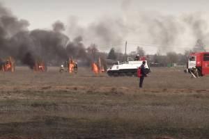 В Брянске прошли масштабные учения МЧС по тушению пожаров