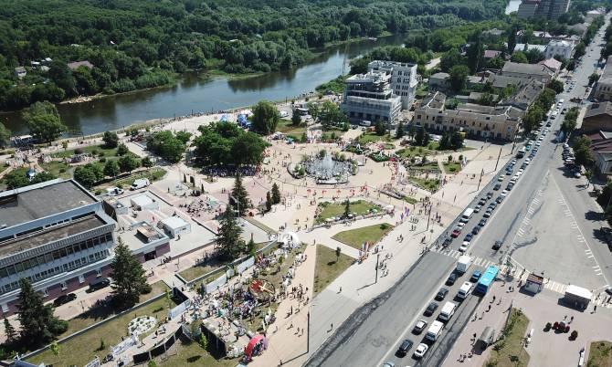 Брянск назвали одним из самых благоустроенных городов России