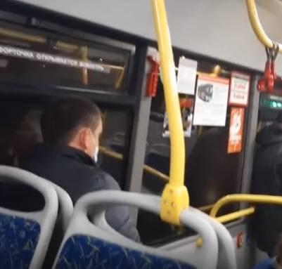 В Брянске начали протекать новенькие синие автобусы