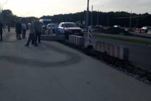Авария в Брянске перекрыла въезд в Фокинский район