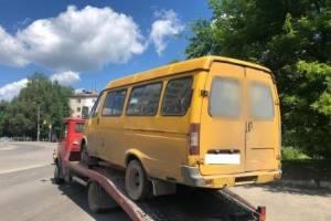 В Брянске маршрутка с неисправным рулём возила пассажиров