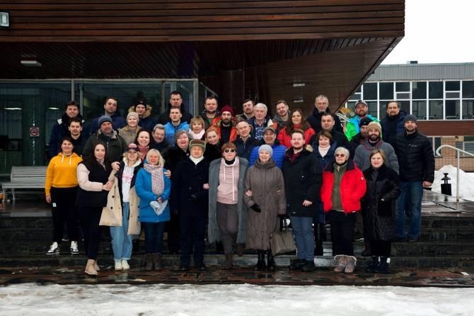 Лариса Садилова завершила зимние съемки нового фильма «Огород»