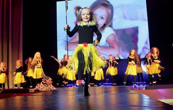 В Брянске прошел конкурс красоты и талантов «Маленькая волшебница»