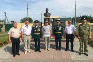 На Брянщине почтили память партизана-пограничника Николая Сушанова