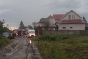 В Бордовичах молния ударила в жилой дом