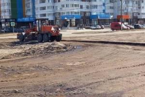 В Брянске сообщили о начале ремонта убитой дороги на улице Горбатова