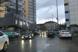 Жители Брянска пожаловались на дорожный хаос на улице Куйбышева