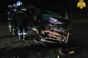 В жутком ДТП на брянской трассе пострадавшего вырезали из авто