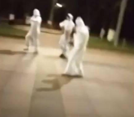 В Брянске сняли на видео коронавирусные пляски на Кургане Бессмертия