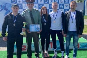 Брянские росгвардейцы стали призерами легкоатлетической эстафеты