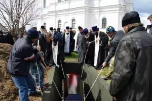 Брянского игумена Илариона похоронили в Свенском монастыре