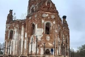 В Климовском районе проведут воскресник около восстанавливаемого храма