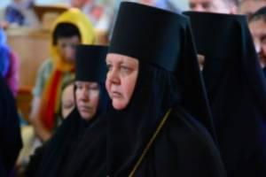 В Брянске настоятельница Петро-Павловского монастыря отмечает юбилей