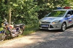 В Новозыбкове поймали пьяного пенсионера-мопедиста