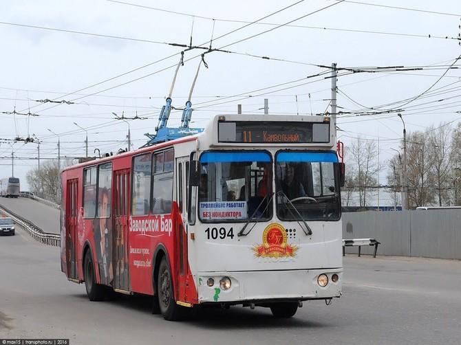 В Брянске троллейбусы № 9,11 и 12 вновь будут ходить до Камвольного комбината