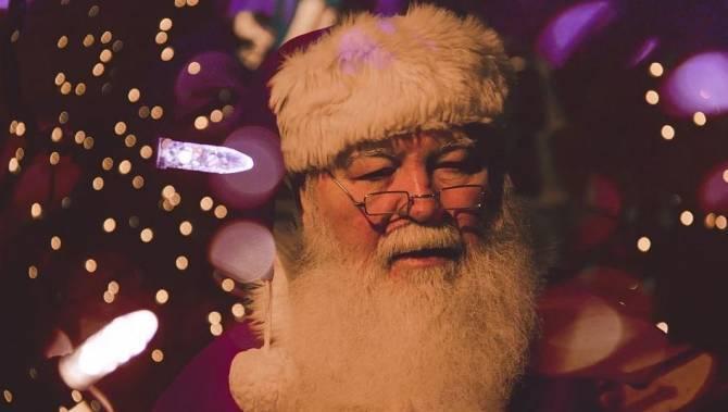В Брянской области детей военнослужащих поздравил Дед Мороз