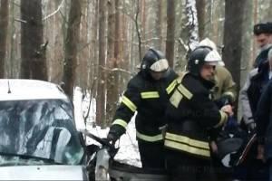 В ДТП под Новозыбковом пожарным пришлось деблокировать пострадавшего
