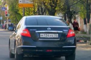 В Брянской области нашли угнанный Nissan Teana