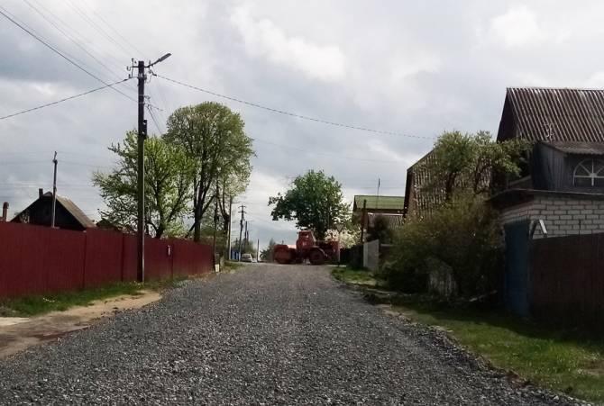 В Жуковке заасфальтируют три улицы