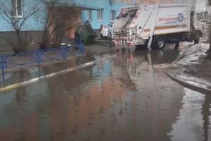 Брянского губернатора позвали побродить по лужам Московского микрорайона