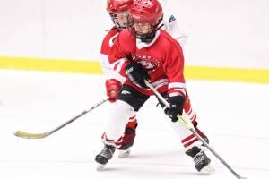 В Суземке сыграли в хоккей учителя, таможенники и пограничники
