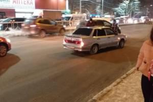 На Московском проспекте Брянска столкнулись две легковушки
