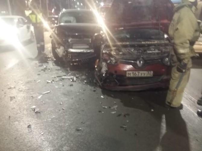 В Брянске образовалась пробка из-за ДТП на улице Дуки
