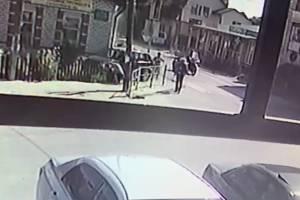 Появилось видео въехавшей в толпу пешеходов машины в Почепе