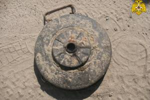 Под Навлей в лесу нашли противотанковую мину