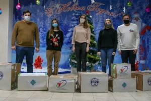 Студенты брянского госуниверситета подарили праздник Клинцовскому дому ребенка