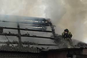 В Гордеевском районе сгорела частная баня