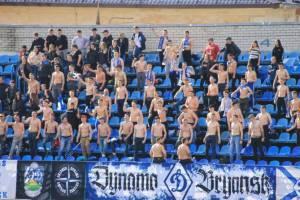 Брянских футбольных фанатов попросили не пить и не хулиганить