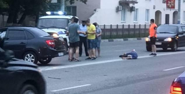 Брянские полицейские опровергли фейк о гибели мужчины в ДТП
