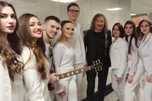 Брянский студент Александр Нестеров выступил в Кремле