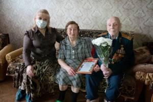 В Брянске 90-летний юбилей отметил ветеран войны Алексей Заручевский