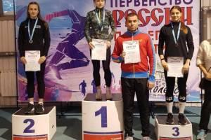Брянская легкоатлетка выиграла две медали на Первенстве России