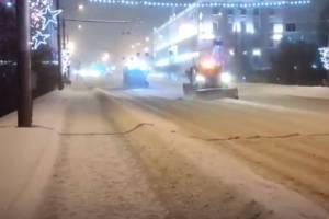 В Брянске дорожников похвалили за оперативную расчистку улиц