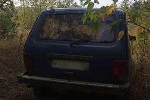 В Брянске на пустыре нашли угнанный автомобиль