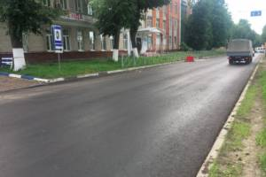 В Брянске на улице Фокина появилось 130 фонарей
