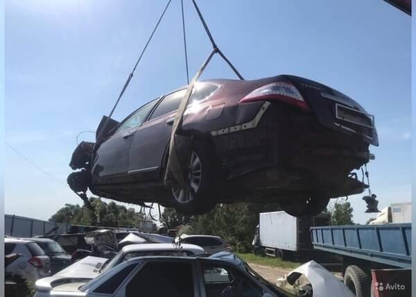 В Брянске рассказали о продаже «Nissan» виновника ДТП Воронцова